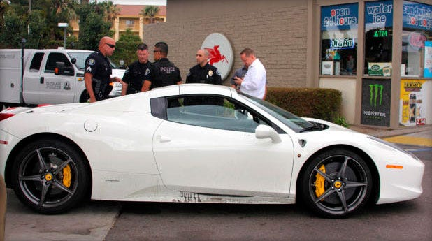 Man Suspected Of Stealing $300,000 Ferrari Arrested After Asking For Gas Money