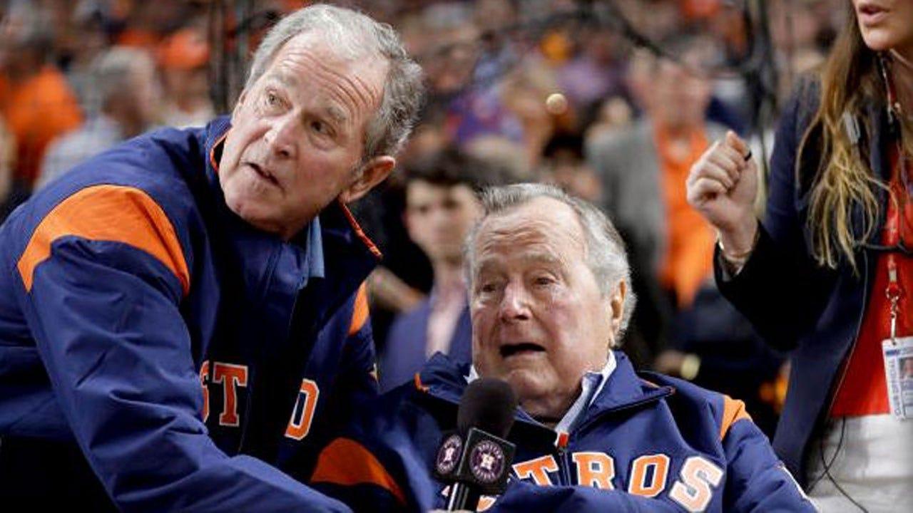 "George H.W. Bush Calls Trump A ""Blowhard"" In New Book"