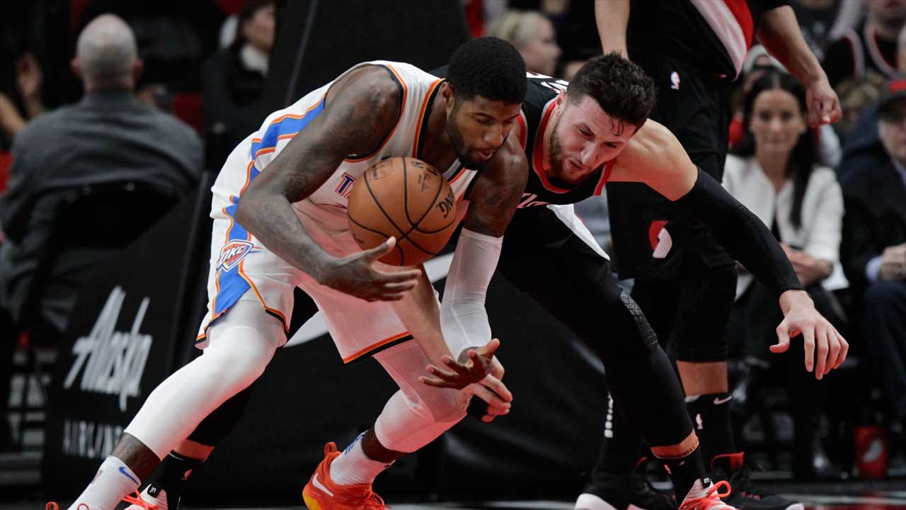 Anthony Ejected, Thunder Lose In Portland
