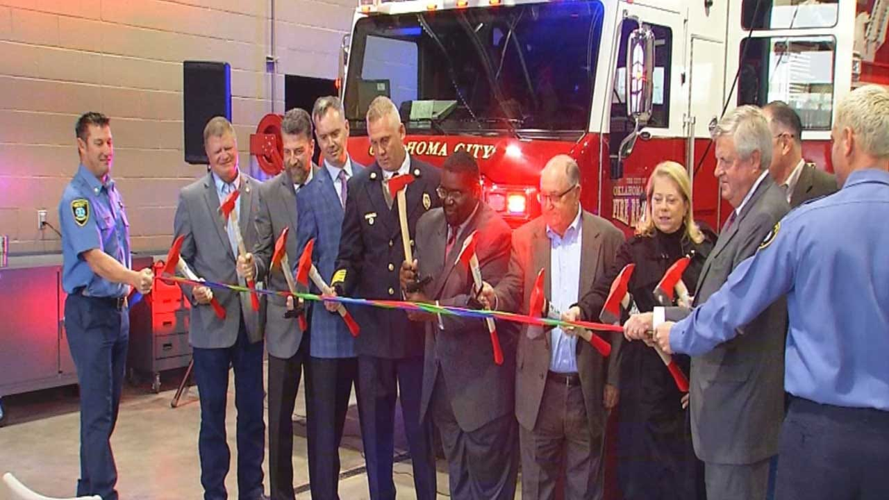 OKCFD Opens Two New Fire Stations