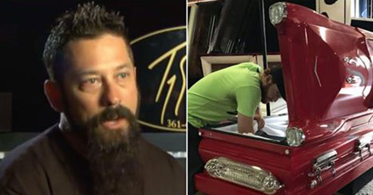 Man Offers To Donate Custom Caskets For Sutherland Springs Shooting Victims
