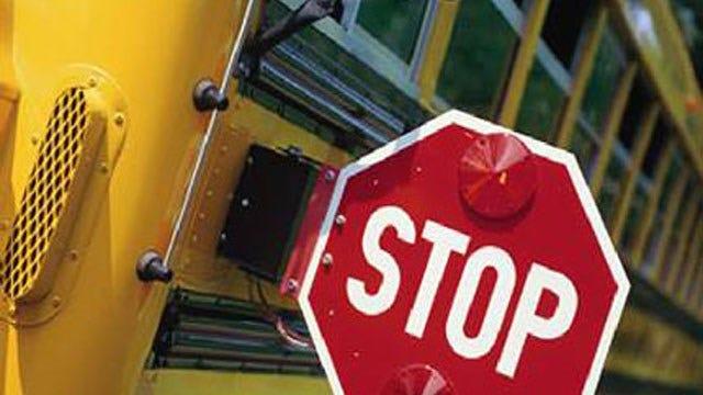 Police: 5 Children Hurt When School Bus Rear-Ended