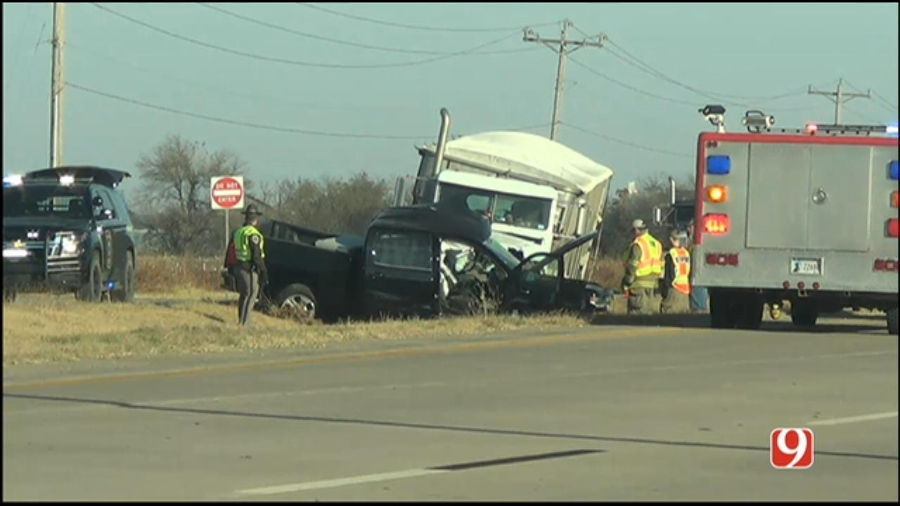 One Dead After Crash Involving Semi North Of Union City