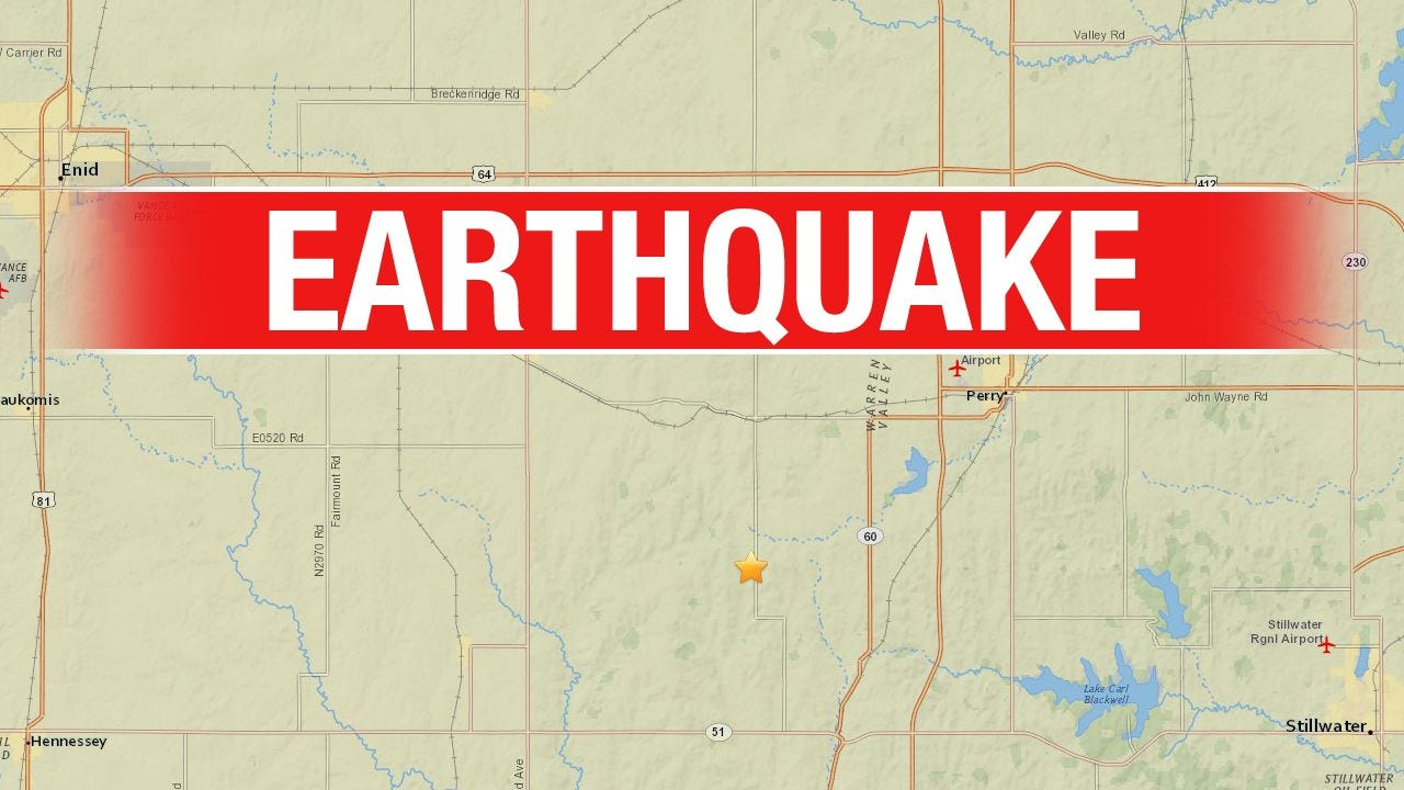 3.3 Magnitude Earthquake Reported In Logan County