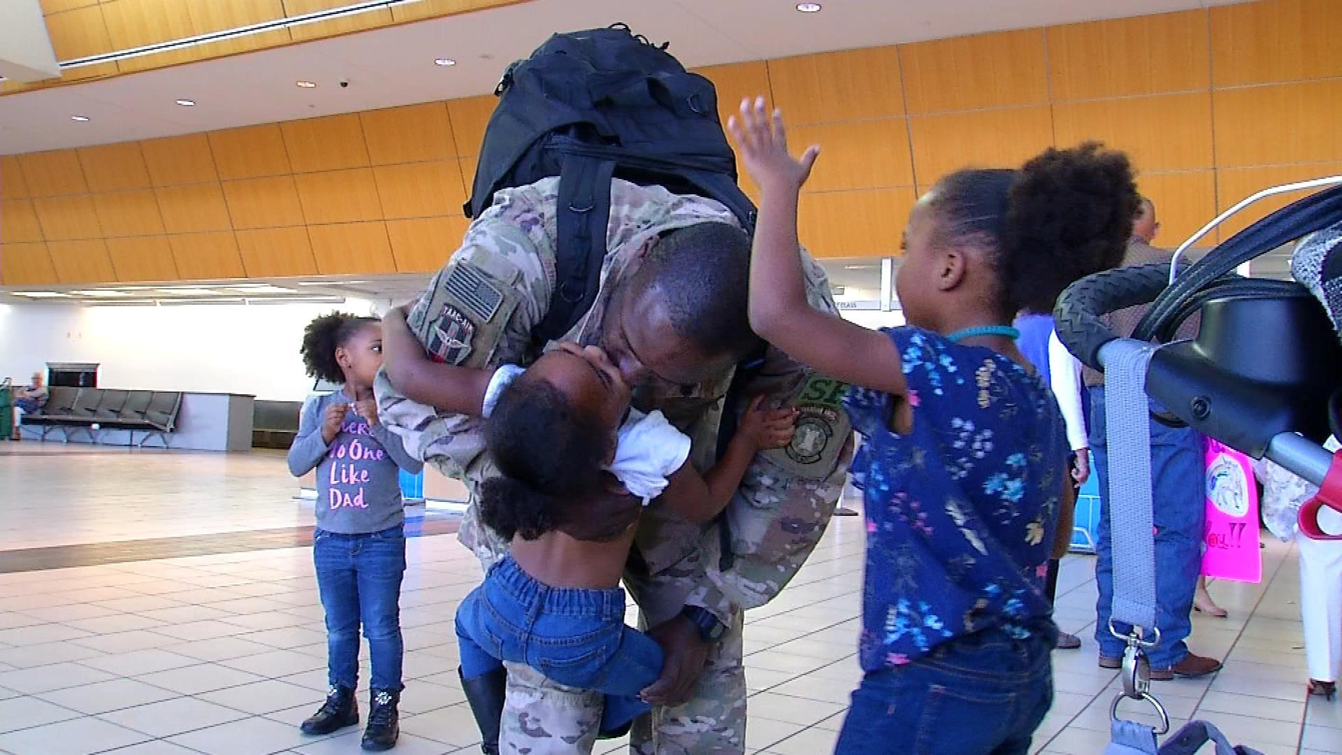 OK Reserve Airmen Return Home After 6 Months Overseas
