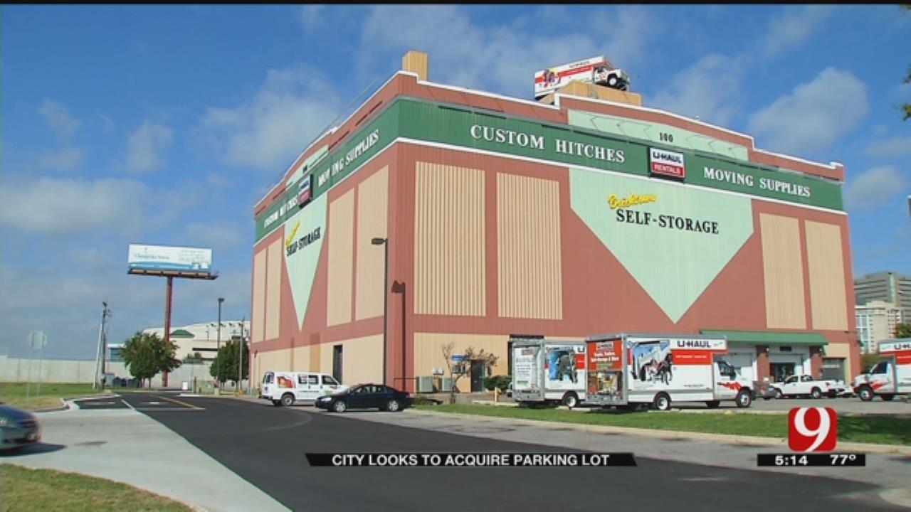 U-Haul Balks At OKC Offer For Bricktown Parking Lot