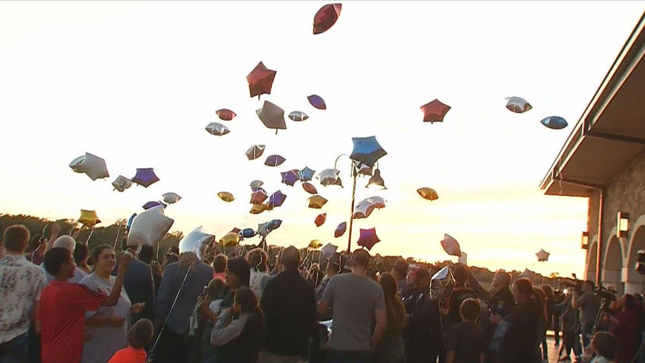 Candlelight Vigil Held in Honor of Colton Clark