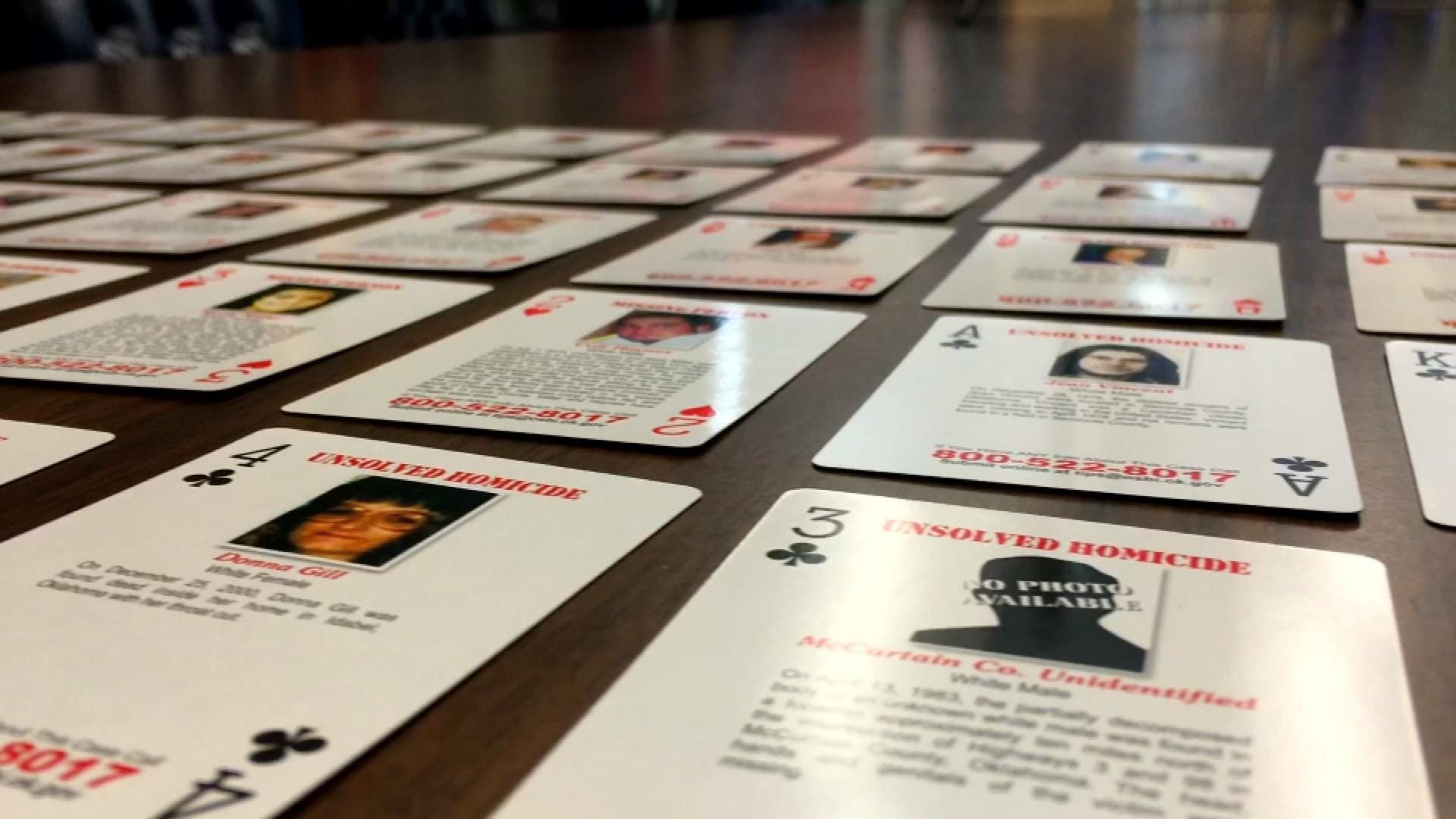 OSBI, DOC Unveil Plan To Close Cold Cases