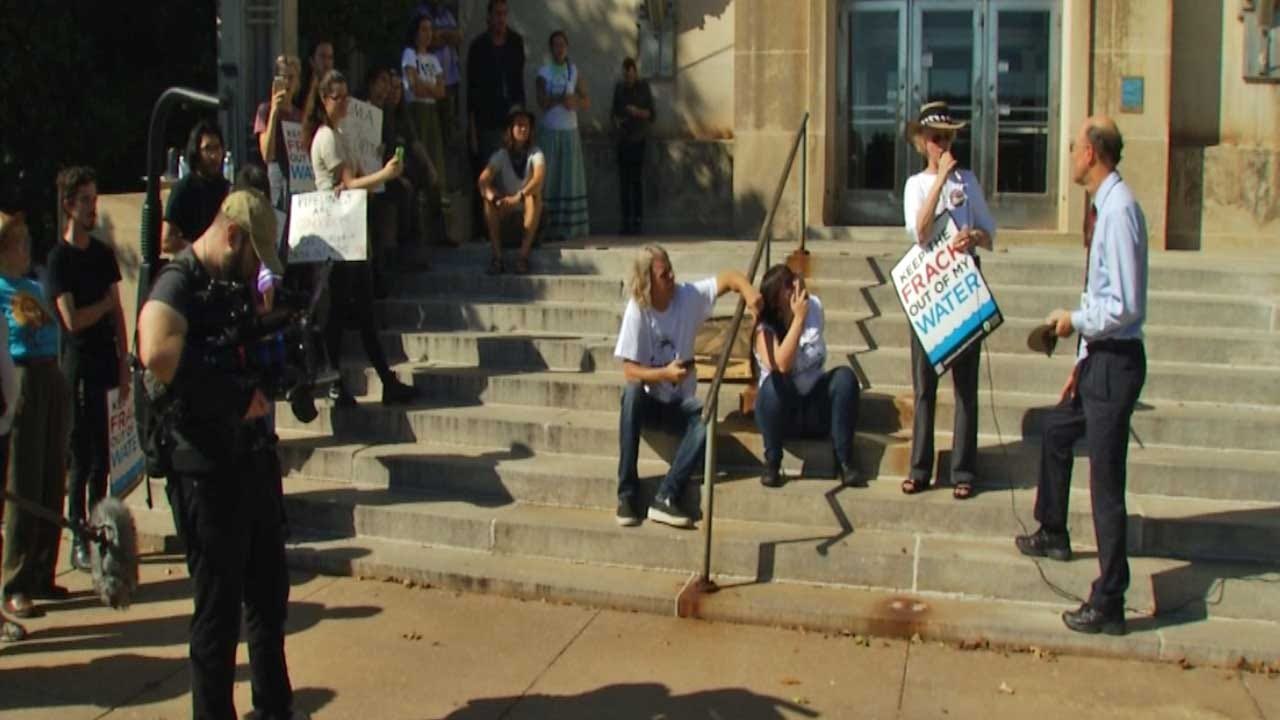 Group Protests Oilfield Prayer Day At OCC
