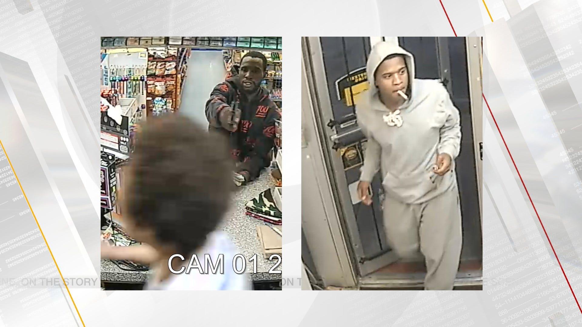 OKCPD Seek Identities Of Pair Of Armed Robbery Suspects