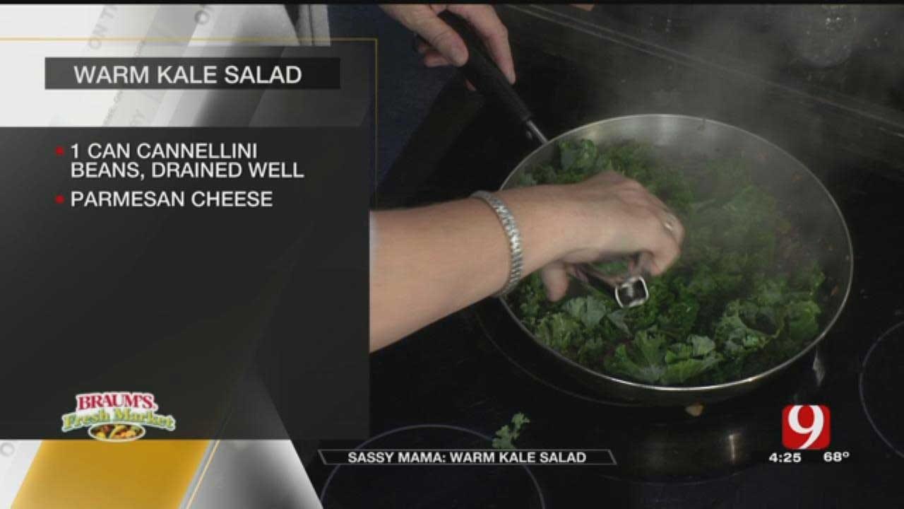 Sassy Mama: Warm Kale Salad
