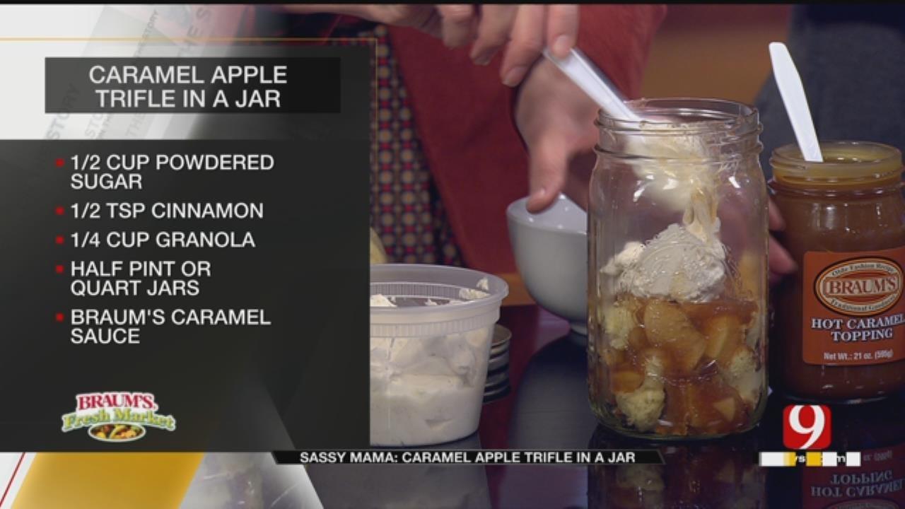 Caramel Apple Trifle In A Jar