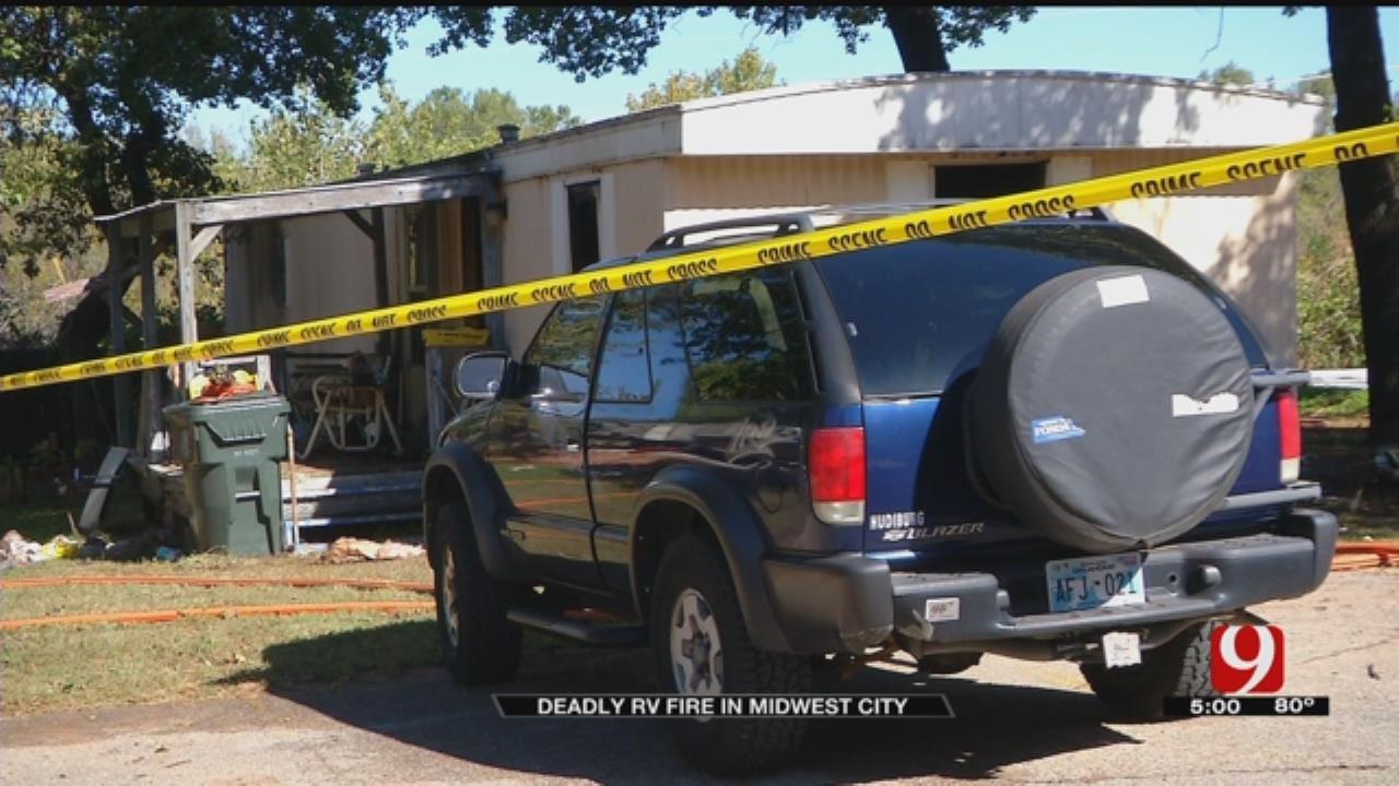 Elderly Man Dies In Midwest City Fire