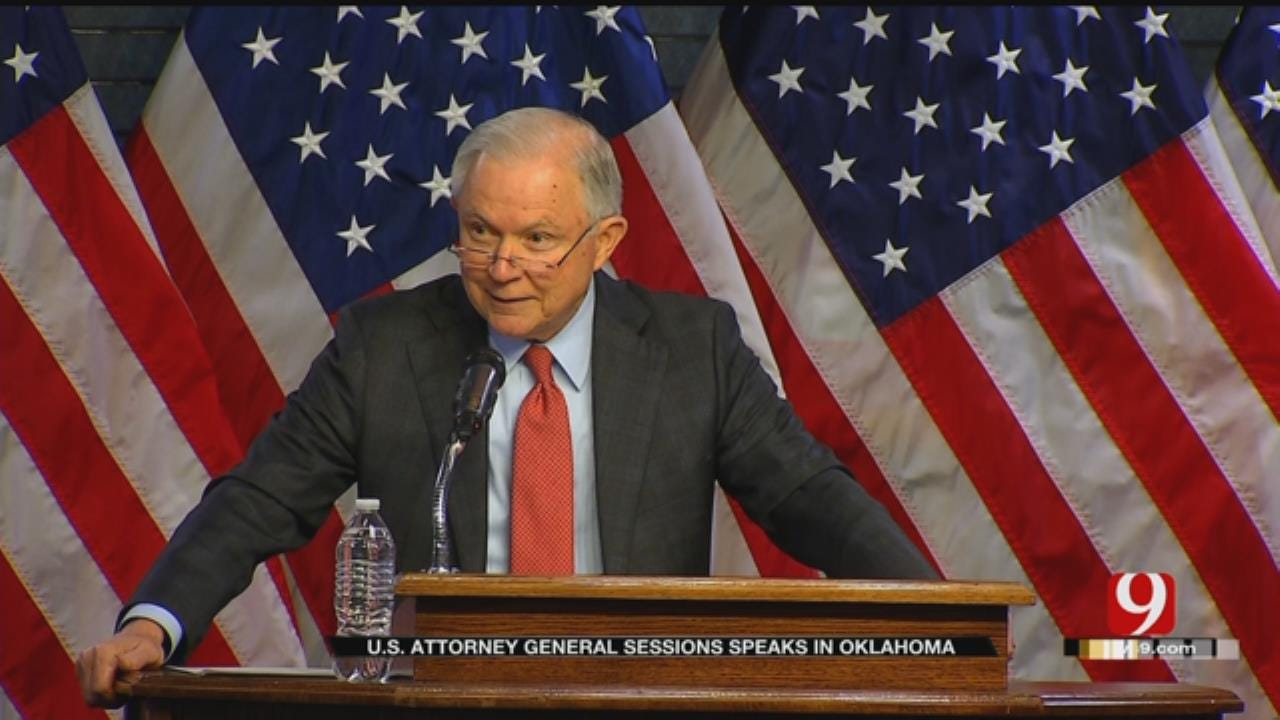 U.S. Attorney General Sessions Speaks In OKC