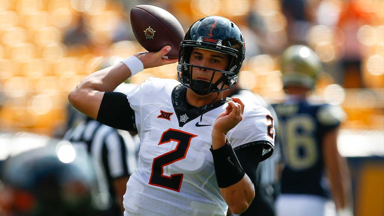 Mason Rudolph Named Big 12 Offensive Player Of The Week