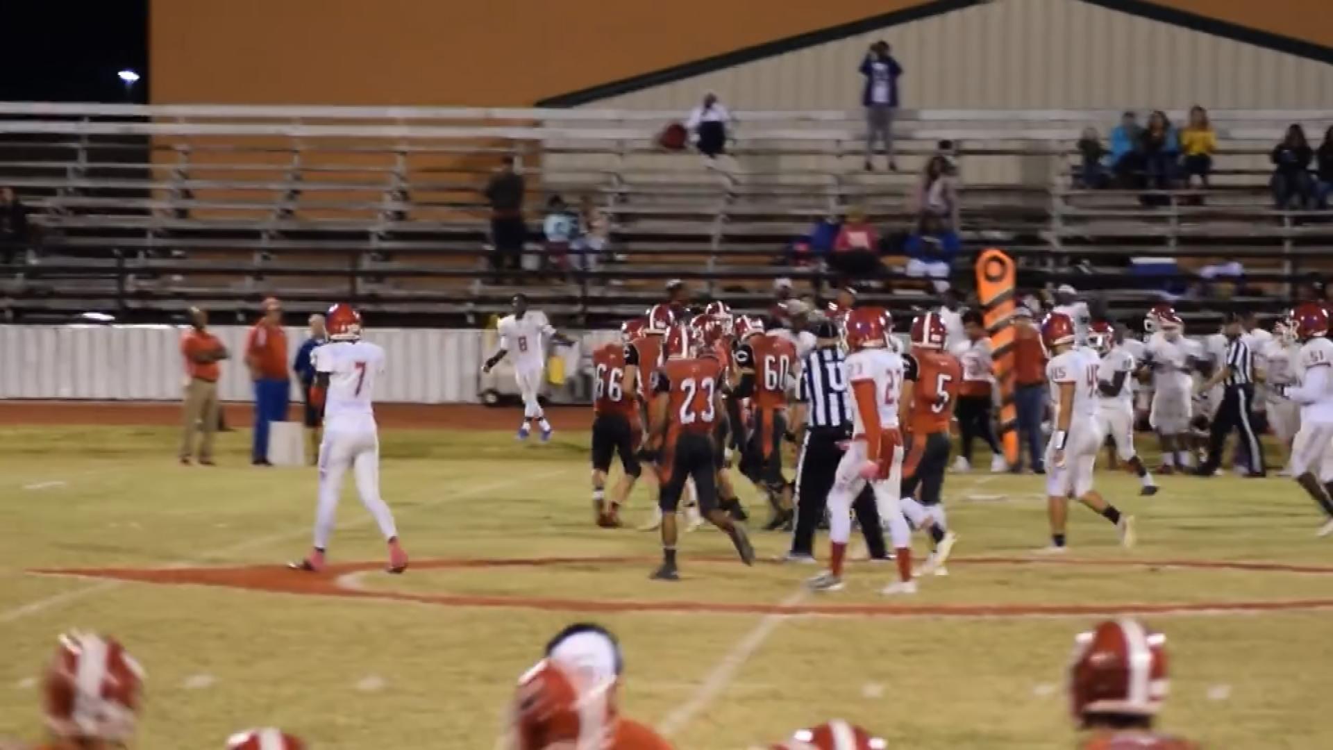 Comanche Senior Scores Special Touchdown On Senior Night