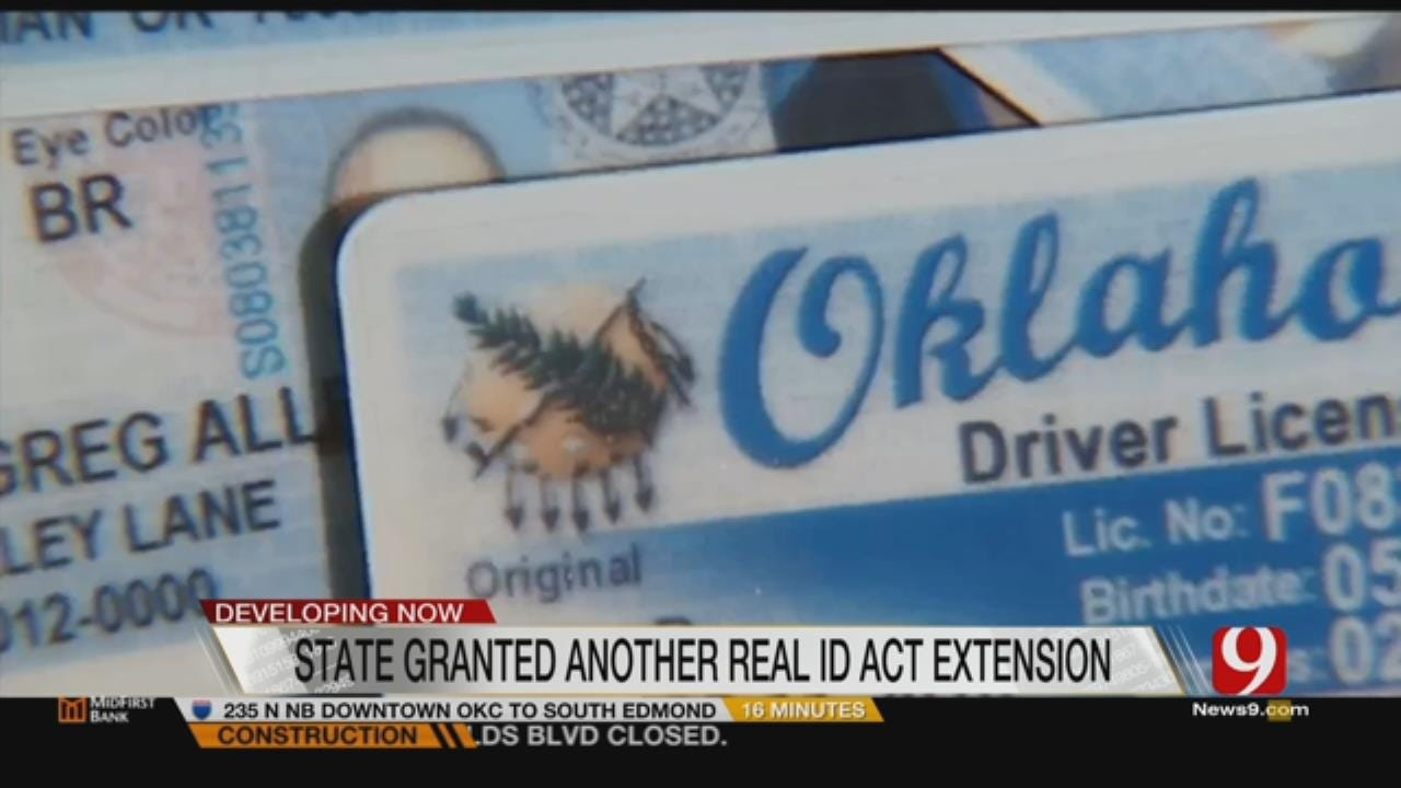 "Oklahoma Granted Extension For Incorporating Federal ""Real ID's"""