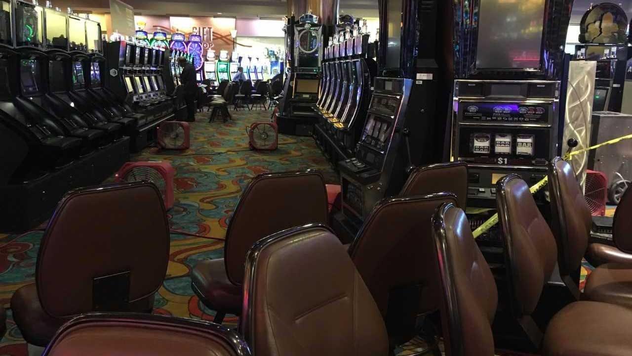 Clean-Up Underway At Riverwind Casino After Tornado Strikes