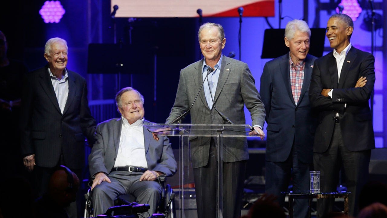 Former Presidents Raise $31 Million For Hurricane Relief Fund