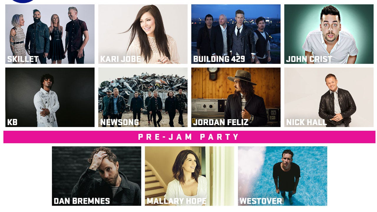 Big Names In Christian Music Coming To OKC For Winter Jam 2018