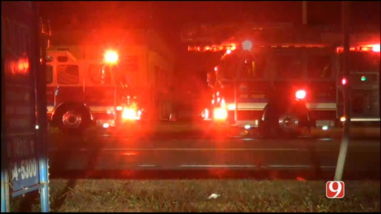 Fire Crews Battled MWC Commercial Fire