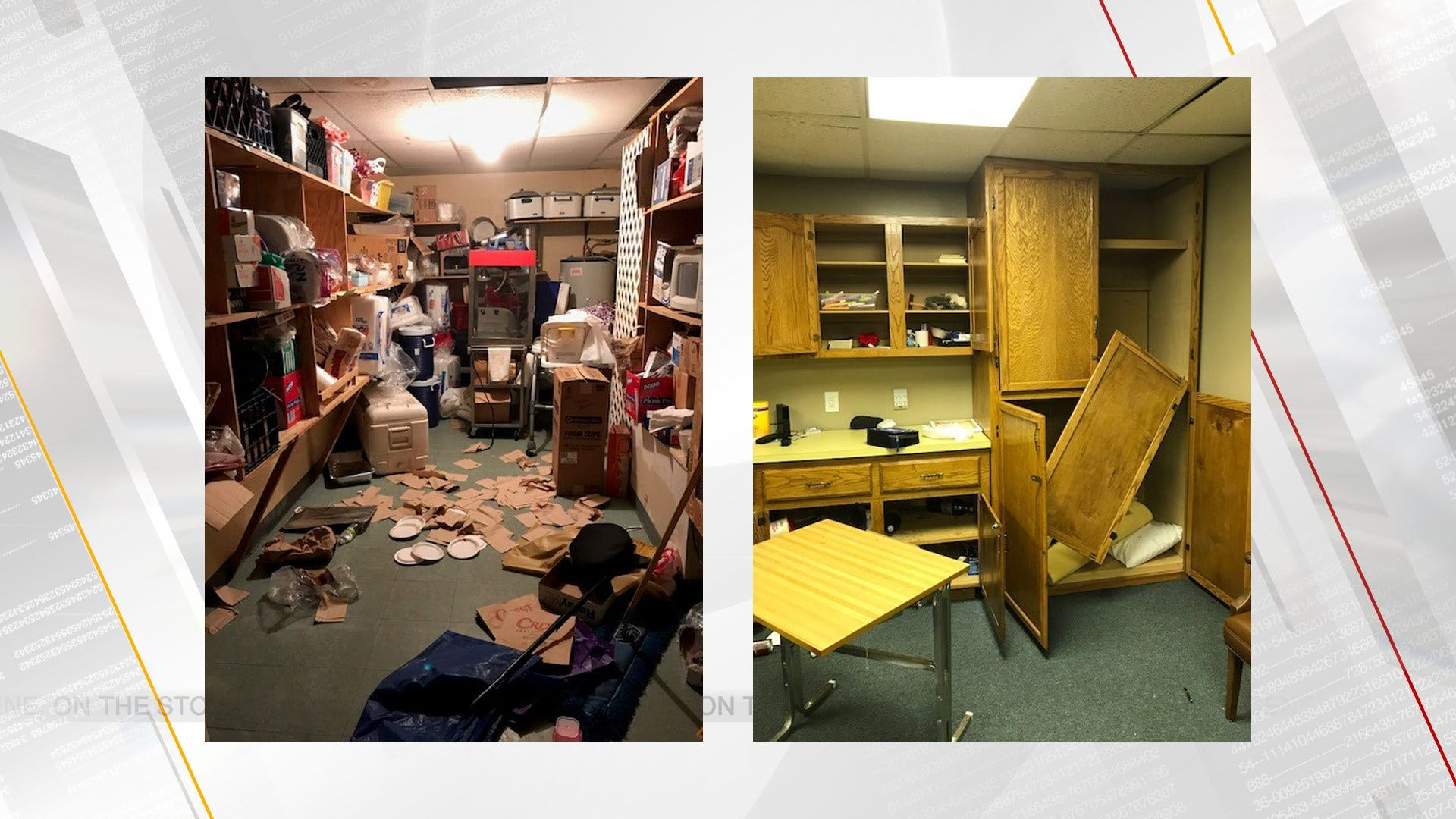 Vandals Cause Thousands Of Dollars In Damage At Metro Church