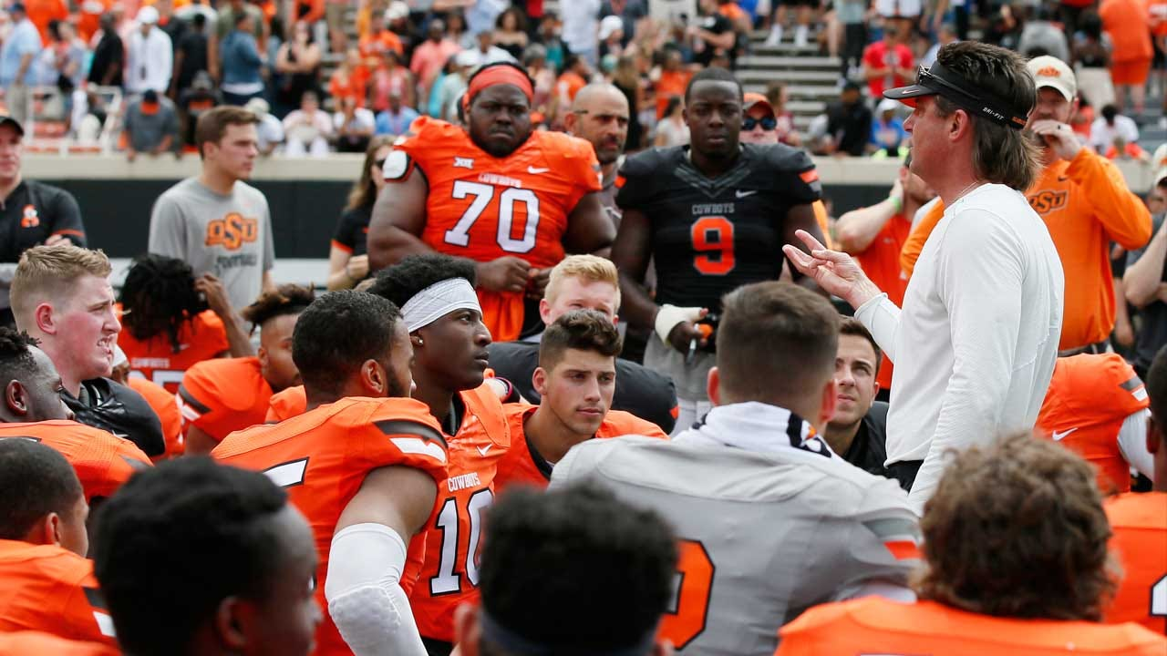 Oklahoma State Releases 2018 Football Schedule