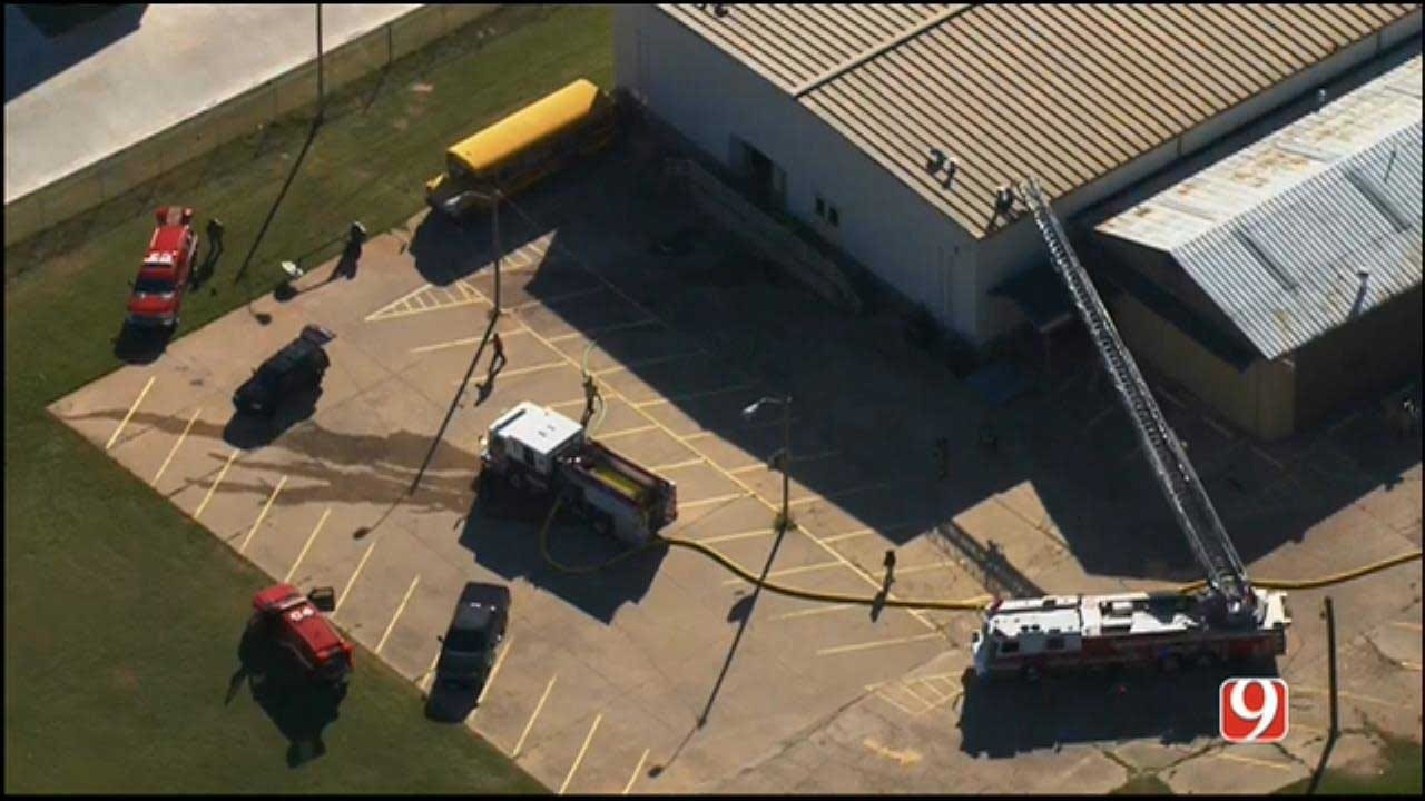 Crews Respond To Church Fire In NW OKC