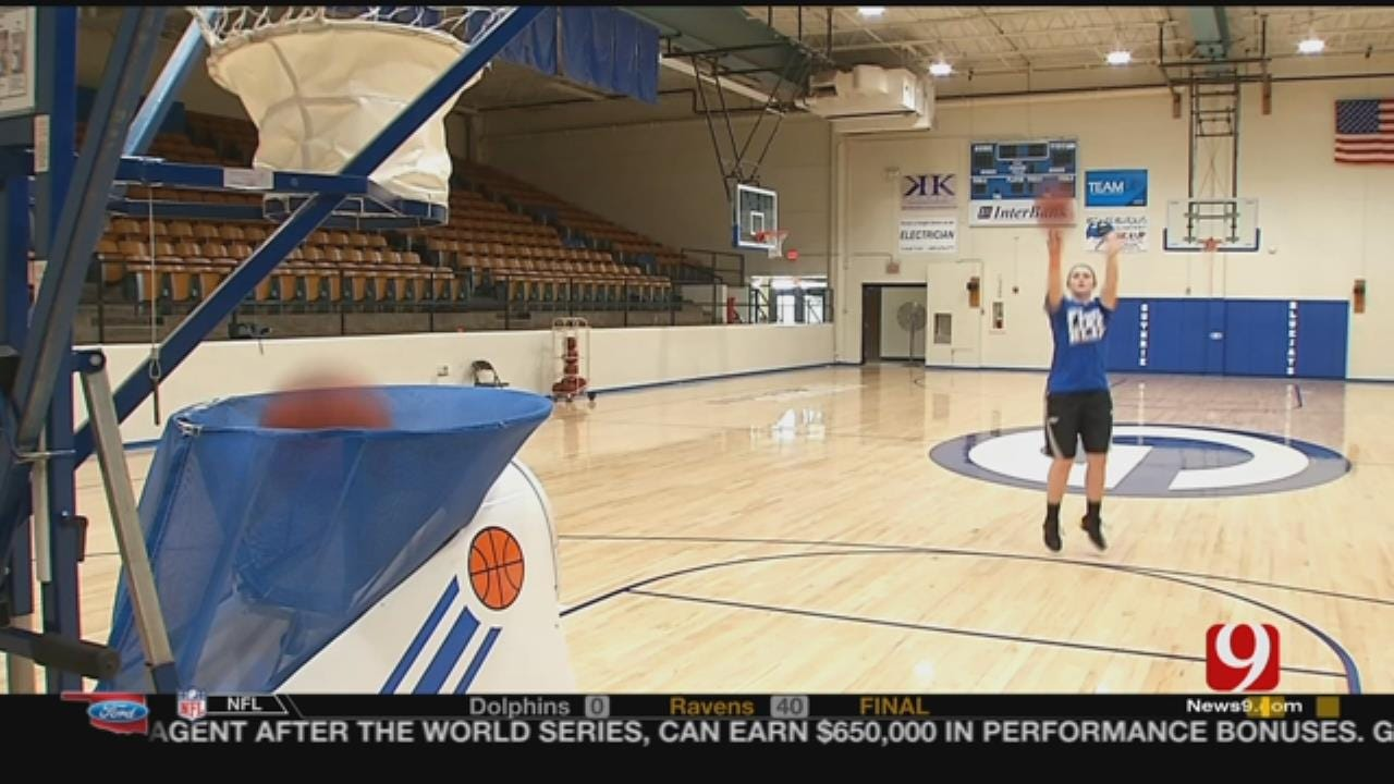 Guthrie Teen Is First To 100,000 Baskets On ShotTracker App
