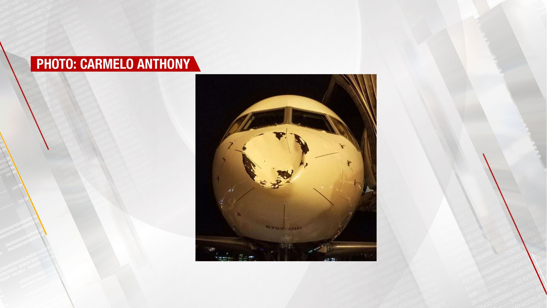 Plane Carrying OKC Thunder Team Suffers Damage En Route To Chicago