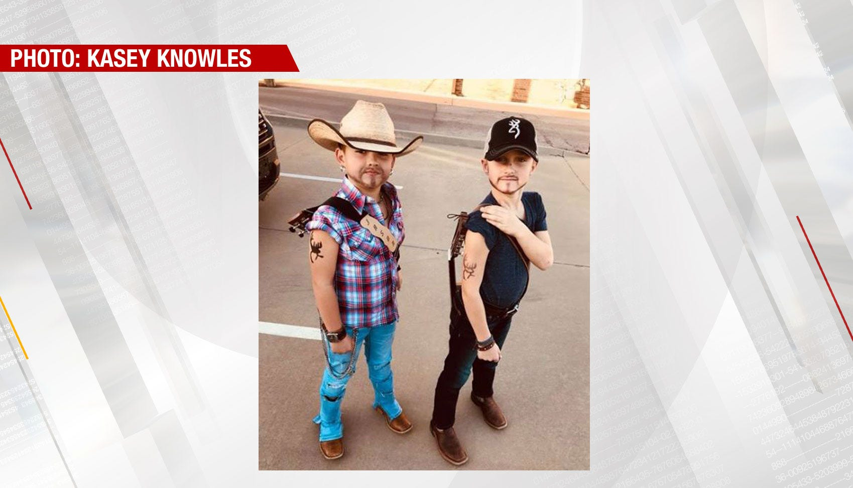 Viral Post Shows Oklahoma Boys Dressed As Country Singers