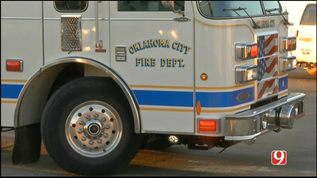 OKCFD Firefighter Struck By Vehicle While On Call In Mustang