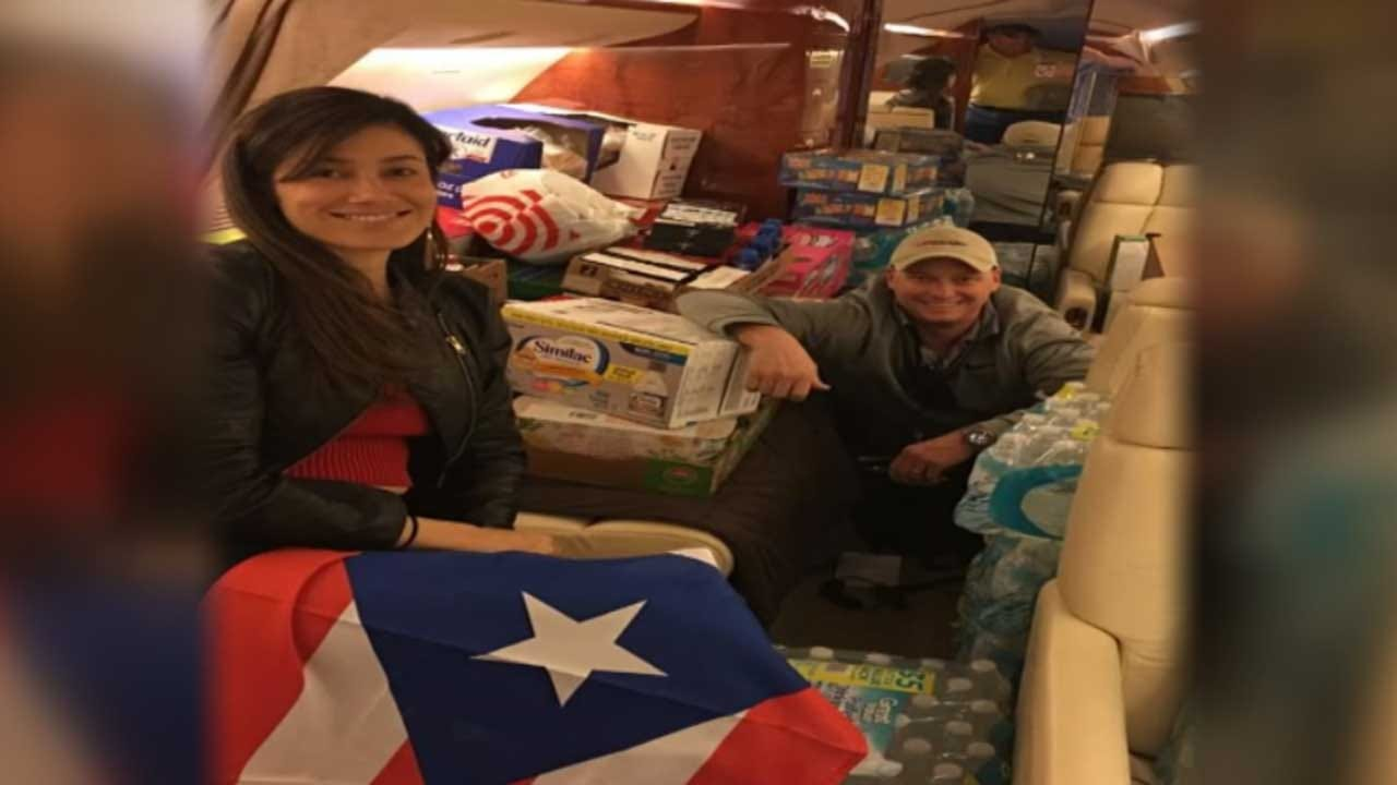 Local Pilot Helping In Puerto Rico Relief Efforts