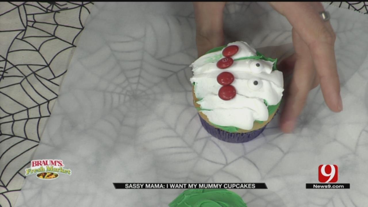 I Want My Mummy Cupcakes