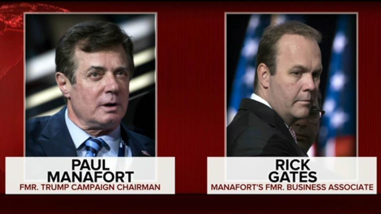 Manafort, Gates Indicted In First Charges From Russia Probe