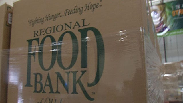 Regional Food Bank Of Oklahoma Up For $25,000 Grant