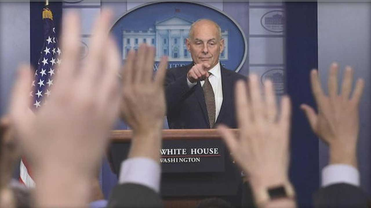 As White House Downplays Russia Investigation, John Kelly Calls It 'Very Distracting'