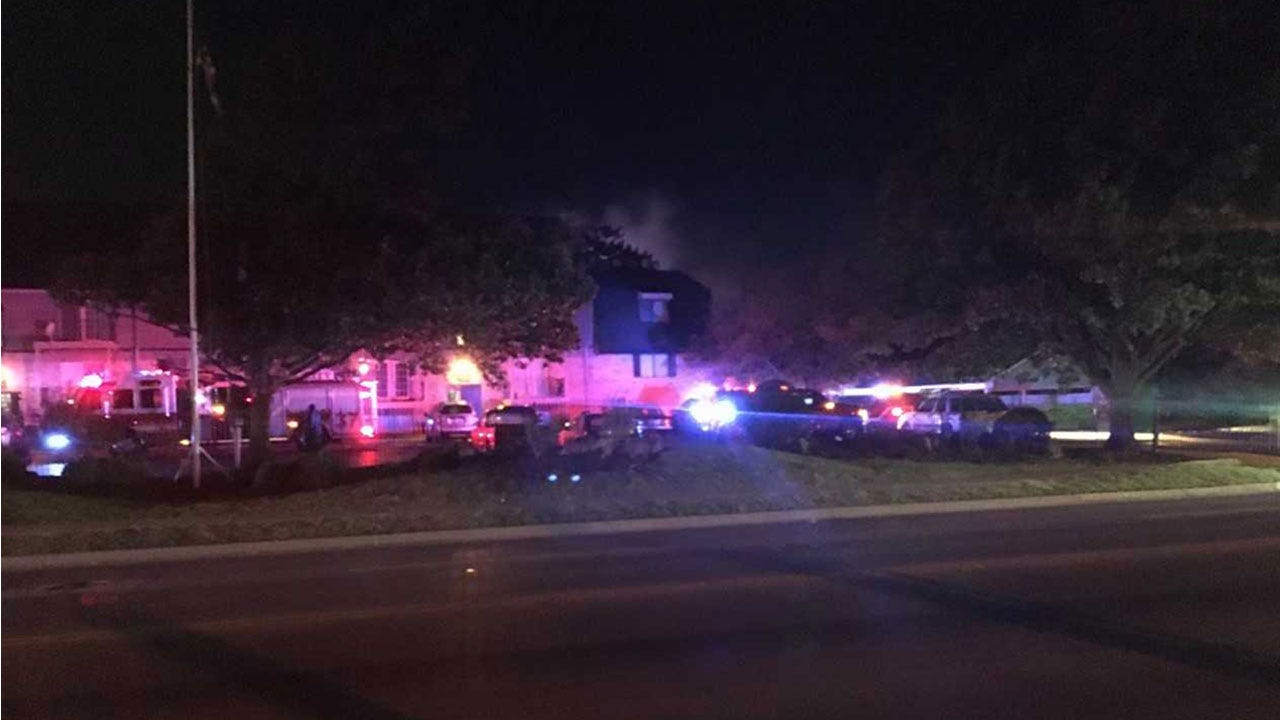 Crews Respond To Fire At RiverChase Apts. In NW OKC