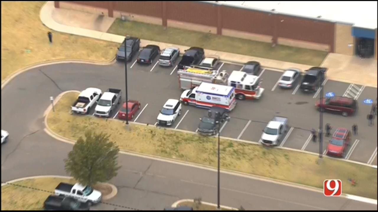 One Injured In Auto-Pedestrian Accident Near Southmoore High School