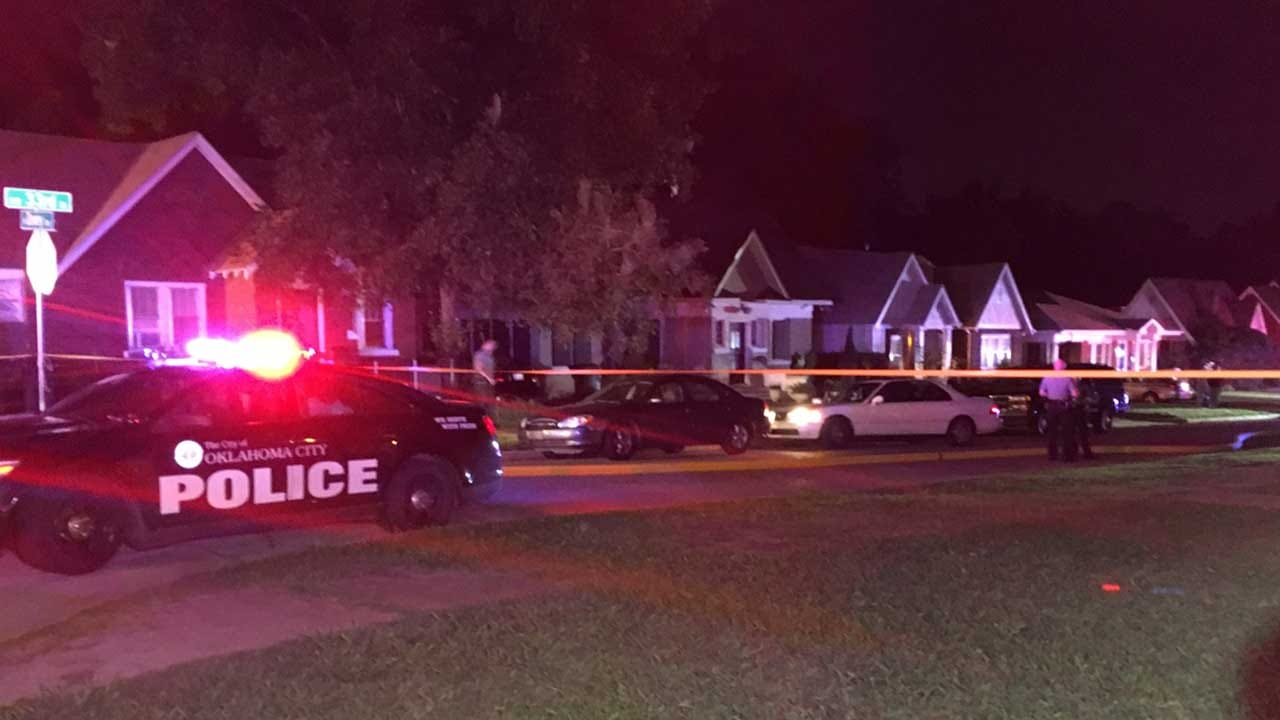 Police: Victim Found Injured In Front Of Burning Home In NW OKC