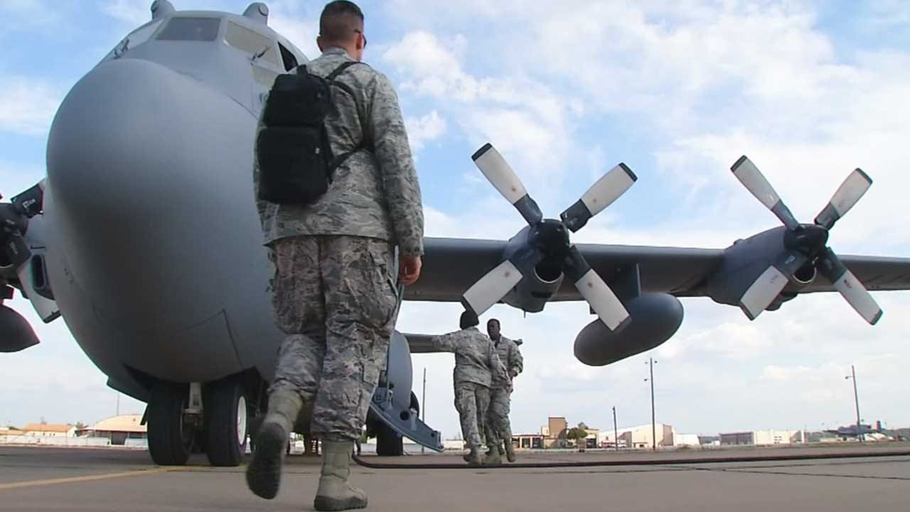 60 Oklahoma National Guard Members Deployed to Middle East
