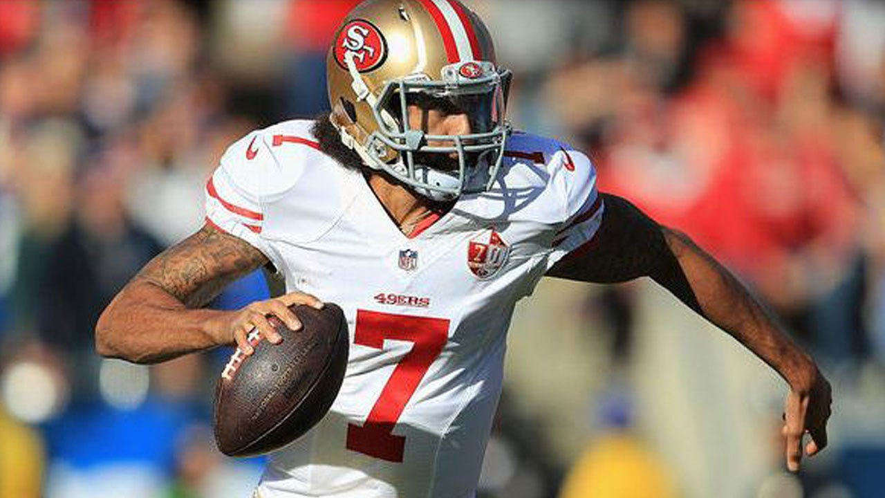 Colin Kaepernick Says He'll Stand During National Anthem To Play In NFL