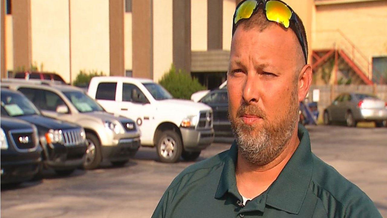 OKC Car Dealership Owner Injured After Driver Strikes Showroom
