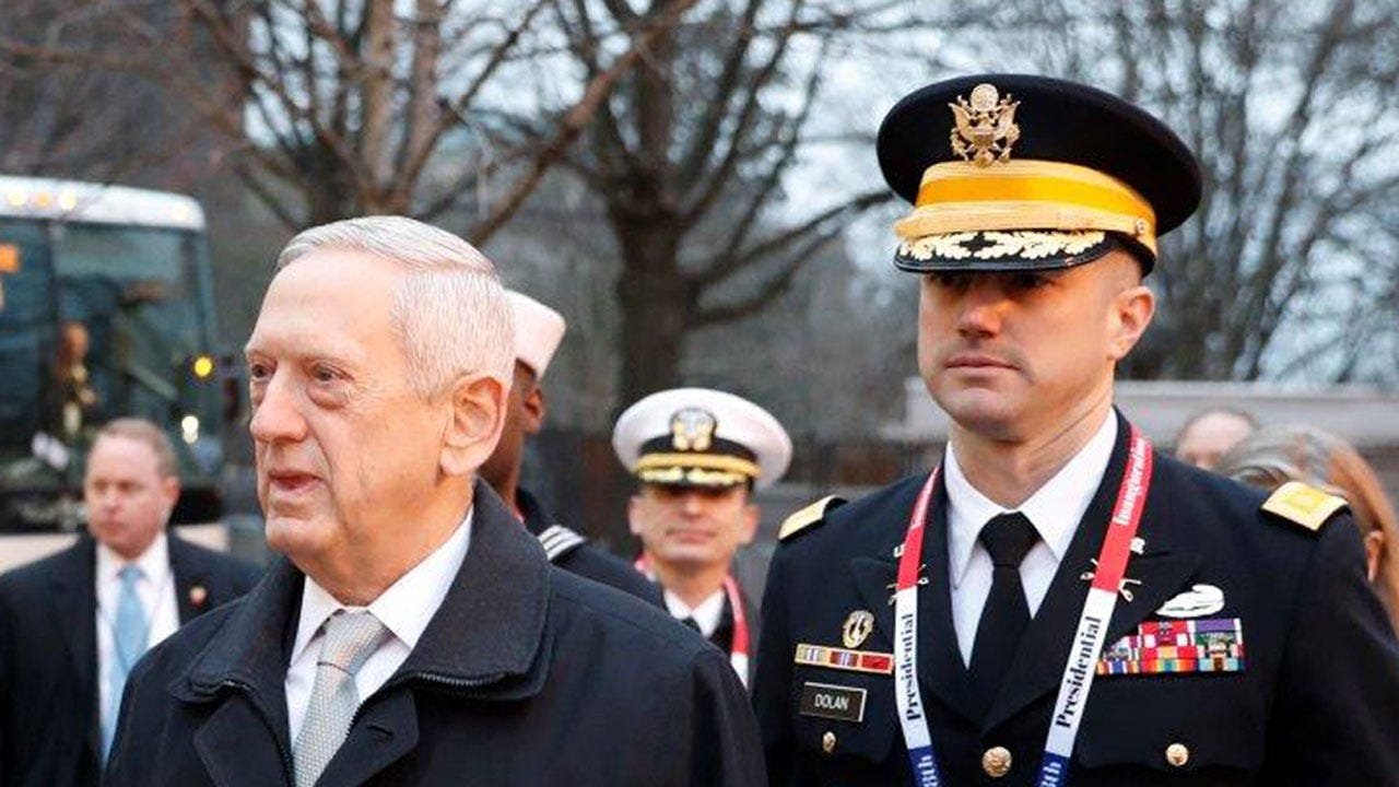 Mattis Orders More Troops in Afghanistan, Says He's Not At Odds With Trump