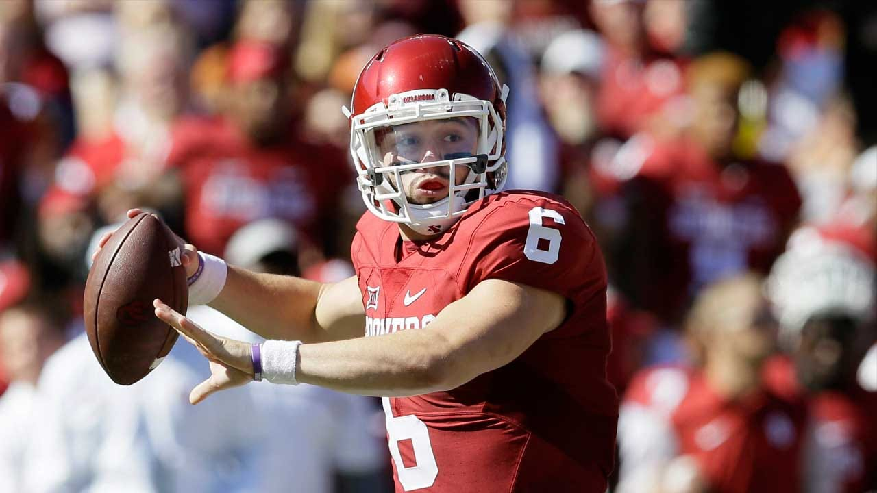 Mayfield Leads Sooners Past Ohio State 31-16
