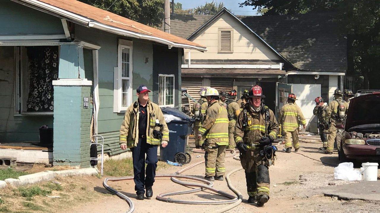 Crews Douse Fire At SW OKC Home