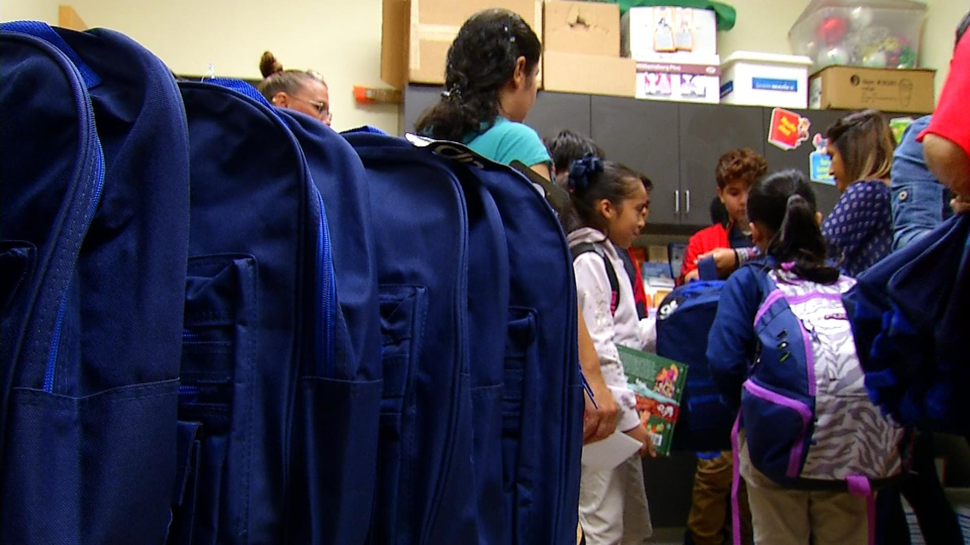 Following The Food For Kids Backpack