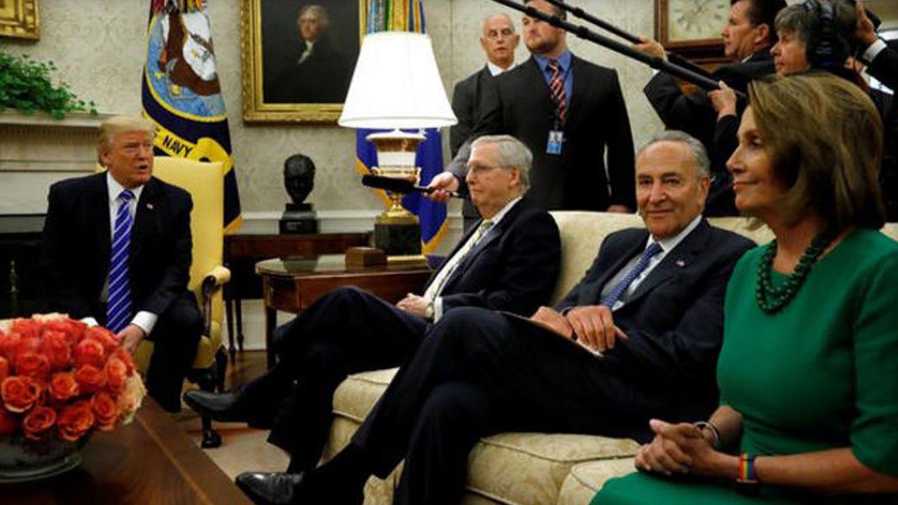 Pelosi, Schumer Announce DACA Agreement With Trump
