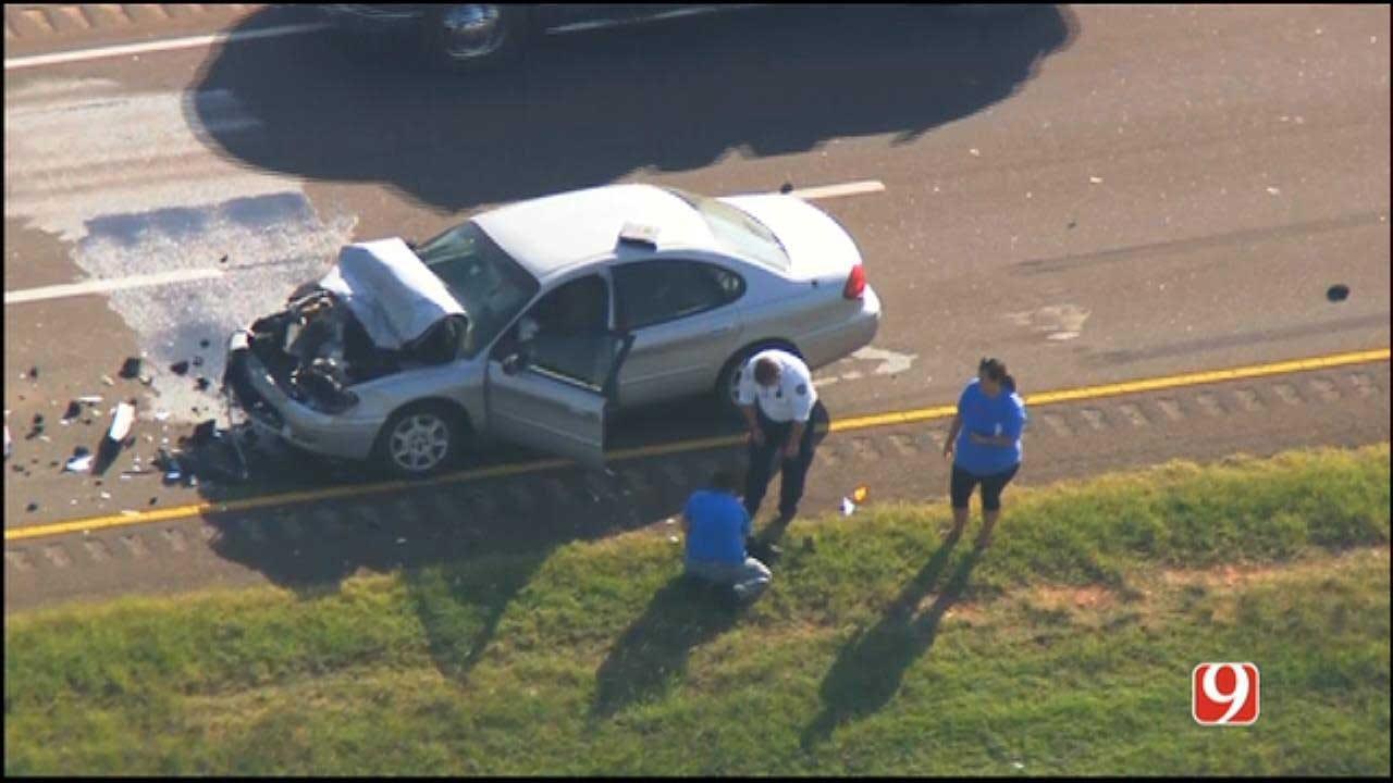 Person Walks Into Traffic, Causes Injury Crash On NW Expressway