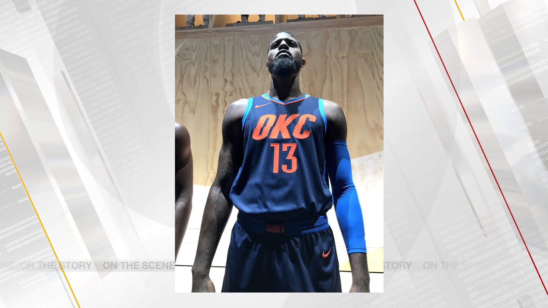 Thunder Officially Unveils New Alternate Uniform